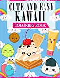 Cute And Easy Kawaii Coloring Book: A Fun Coloring Book For Kids with Adorable Kawaii Themed Characters