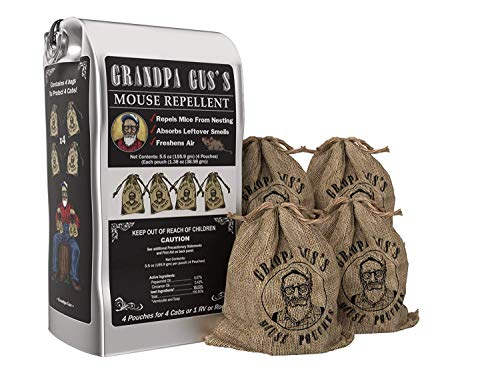Grandpa Gus's Mouse Repellent; Peppermint and Cinnamon Oil