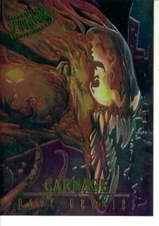 1995 Fleer Ultra Marvel Spider-Man Masterpieces Card #1 : Carnage