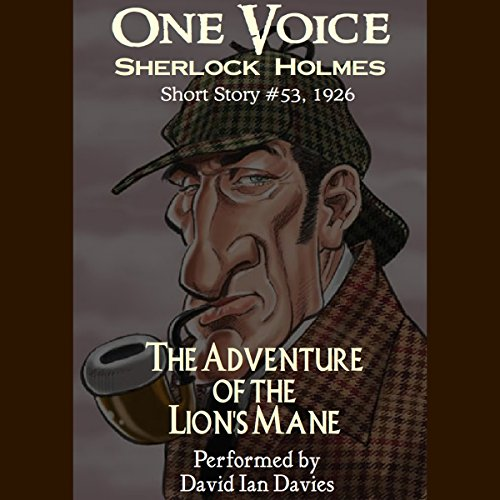The Adventure of the Lion's Mane audiobook cover art