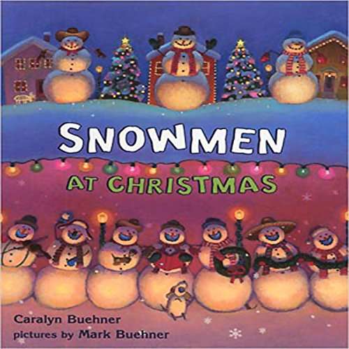 Snowmen at Christmas cover art