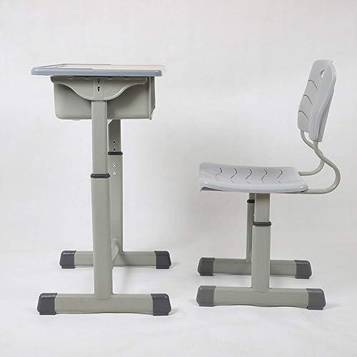 la red entera más baja Mesa Mesa Mesa de Niños y sillas estudiante escritorio ABS plástico Niños estudio mesa sistema entrenamiento clase Consejería clase escritorio y silla ajustable sentado postura corrección silla verde  gran venta
