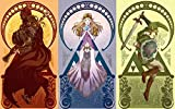 ZXYX 5D Diamond Painting The Legend of Zelda by Number DIY Painting Cross Stitch Full Drill Crystal Rhinestone Embroidery Pictures Arts Craft for Home Wall Decor Gift 19.6inx23.6in