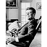 Wee Blue Coo Photo President John F Kennedy Vintage Art