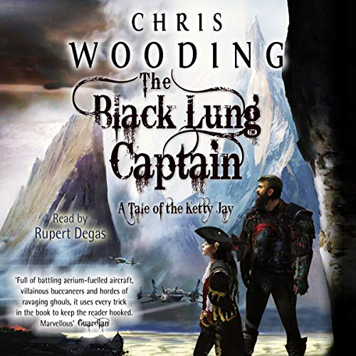 The Black Lung Captain audiobook cover art