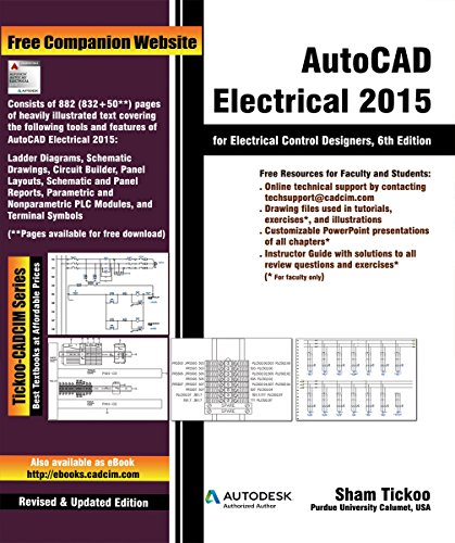 AutoCAD Electrical 2015 for Electrical Control Designers (English Edition)