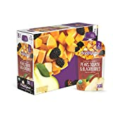 Happy Baby Organic Clearly Crafted Stage 2 Baby Food, Pears, Squash and Blackberries, 4 Ounce (8 Count)