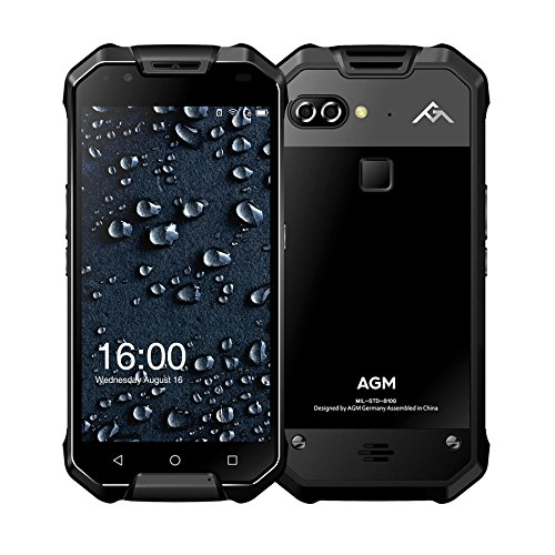 "AGM X2 IP68 Waterproof GPS + GLONASS Dual Navigation System 5.5"" FHD 6GB RAM +64GB ROM Qualcomm MSM8976SG Octa Core Dual 12MP Camera 6000mAh NFC"