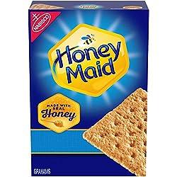 Honey Maid Honey Graham Crackers, Holiday Christmas Cookies, 14.4 oz