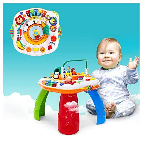 Kind van de baby multifunctionele leren verlichting educatief speelgoed, met muziek verkennen water tafels speeltafels kindje zand vroege kinderjaren, vroeg kleuteronderwijs