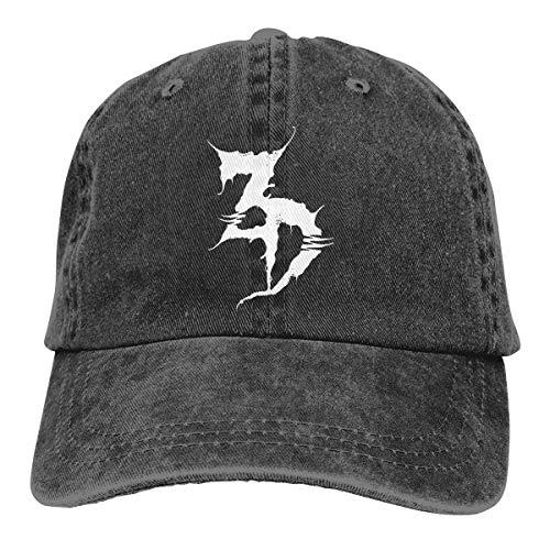 GingerDHallberg Zeds Dead Hats Washed Adjustable Cowboy Hat Denim Baseball Caps Unisex