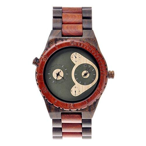 ZLYC - Reloj de Pulsera para Hombre, 2...