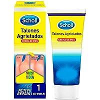 Scholl, Crema de pies para talones agrietados, con urea y keratina, 60 ml