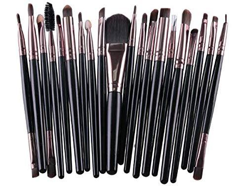 Lot de 20 pinceaux de maquillage