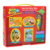 Educational Insights Hot Dots Jr. Favorite Fairy Tales Storybooks, 4 Books & Interactive Pen, Homeschool, Early Learning Activities for Ages 3+