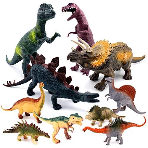Figurines de dinosaure