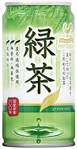 富永貿易 神戸居留地 緑茶 185g×30本入