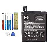 E-YIIVIIL BM46 Batería de repuesto compatible con Xiaomi Redmi Note 3 con kit de herramientas.