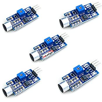 HiLetgo 5個セット サウンドセンサーモジュール