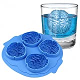 Halloween Brain Shape 3D Ice Silicone Mold Freeze Ice Cube Tray Cake Chocolate Soup Cream Mould Baking Decoration Tool