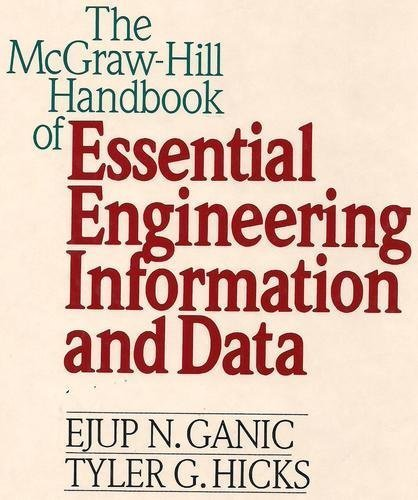 The McGraw-Hill Handbook of Essential Engineering Information and Data