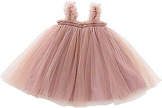 Vestido Tutú Sin Mangas para Bebé, de Tul, Talla 9 a 36 Meses