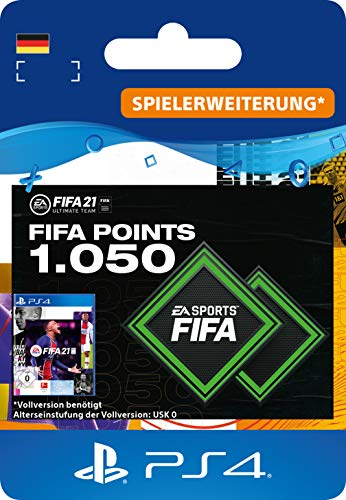 FIFA 21 Ultimate Team 1050 FIFA Points   PS4 Download Code - deutsches Konto