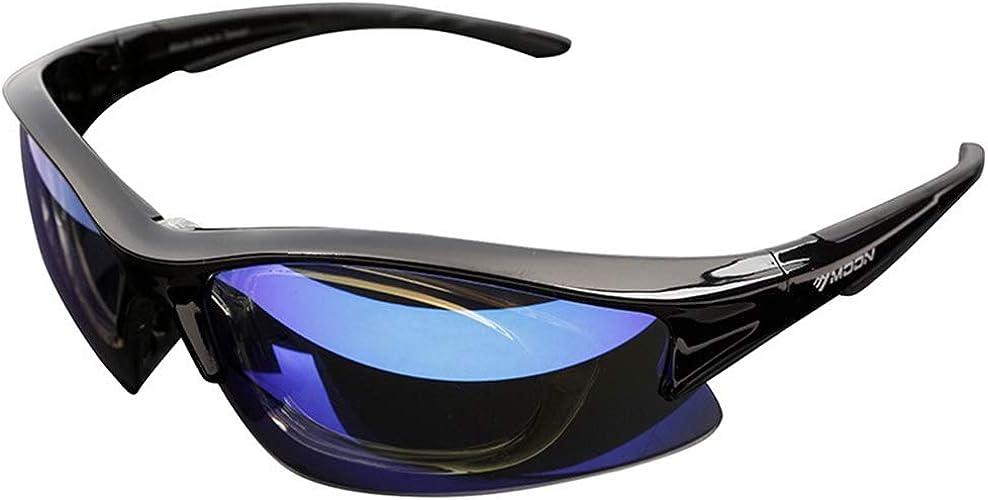 Yxx max Lunette de Soleil Lunettes de Soleil Sportives Lunettes d'équitation Anti-Sable polarisées extérieures avec l'équipeHommest de Miroir de myopie