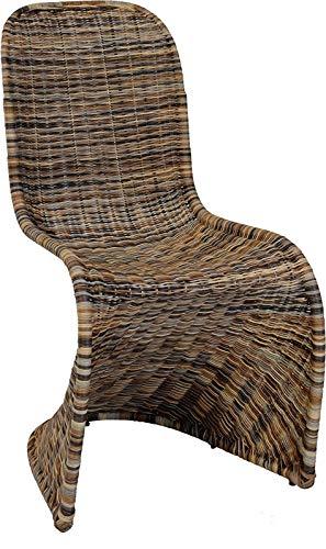 Schwingstuhl, Esszimmer-Stuhl aus Rattan