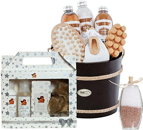 BRUBAKER Cosmetics kokos-vanille dromen - De 14-delige Tropical Verwen badset cadeauset