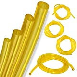 KT Deals 4 Sizes Petrol Fuel Gas Line Pipe Hose Tubing for String Trimmer Chainsaw Blower and Other Power Tools for 2 Cycle Engine for Poulan, Craftman