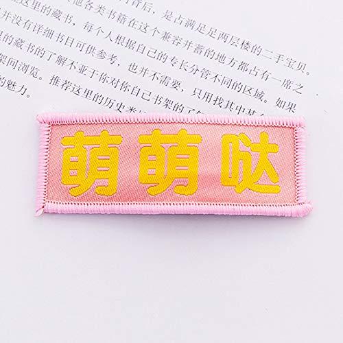 AAPP SHOP Accessoires de Cheveux Mignon Fille créative Clips de tête Deux yuans drôle BB Clip Enfants Accessoires de Cheveux en épingle à Cheveux Frange de Princesse Clip Faire Attention à l'attitude