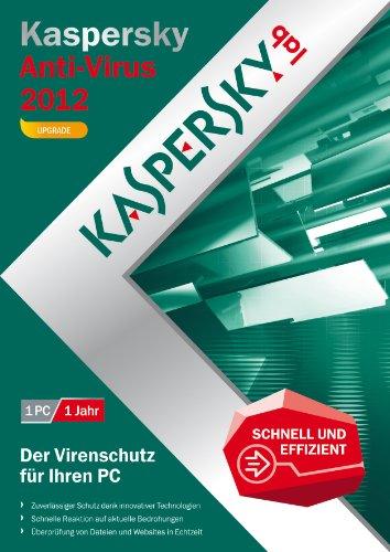 Kaspersky antivirus 2012 - mises à jour (1 poste, 1 an) [import allemand]