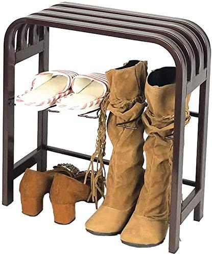 Zapatero Marco de zapato El hierro material nórdica simple zapato práctico estante Porche Use zapatos heces Botas zapatero zapato Gabinete de heces puede sentarse zapato Gabinete Diseño que ahorra esp