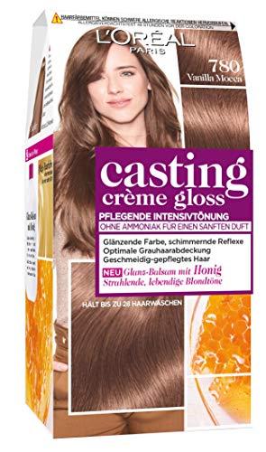 L'Oréal Paris Casting Crème Gloss Glanz-Reflex-Intensivtönung in Vanilla Mocca, 3er Pack