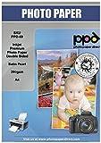 PPD de inyección de tinta papel fotográfico lustre Pearl doble cara super Premium A4 290 gsm x 50 hojas ppd-69 - 50