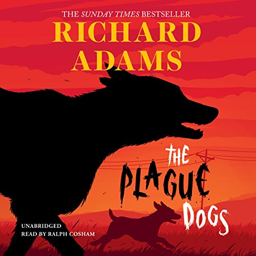 The Plague Dogs audiobook cover art