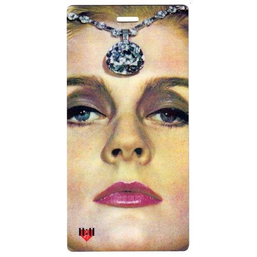 Borsa trolley &, Set da 2 pezzi, by 11:11 grande, Diamond Lady (Nero) - LGT-160A