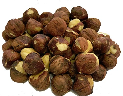 NUTS U.S. - Oregon Hazelnuts (Filberts) | Raw and Unsalted | Steam Pasteurized and NON-GMO | No Shell - Just Kernels | JUMBO SIZE | Packed in Resealable Bags!!! (1 LB)
