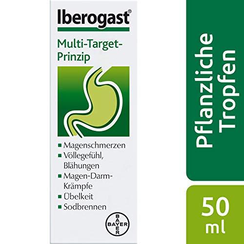 Iberogast das Arzneimittel bei funktionellen und motilitätsbedingten Magen-Darm-Erkrankungen, 50 ml, 1 Stück
