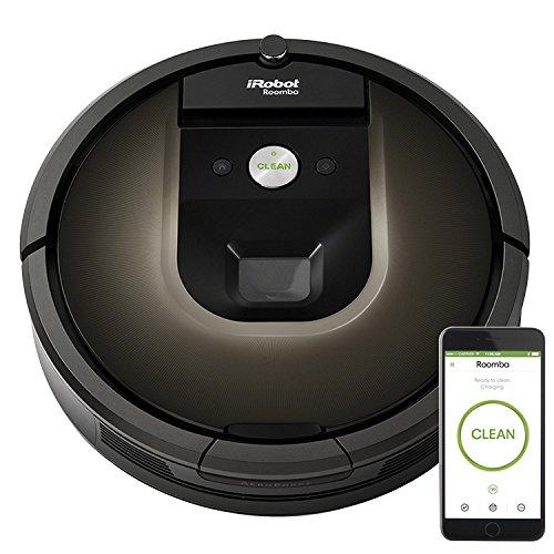 iRobot, Aspiradora Robótica Programable, Roomba 980, Marrón
