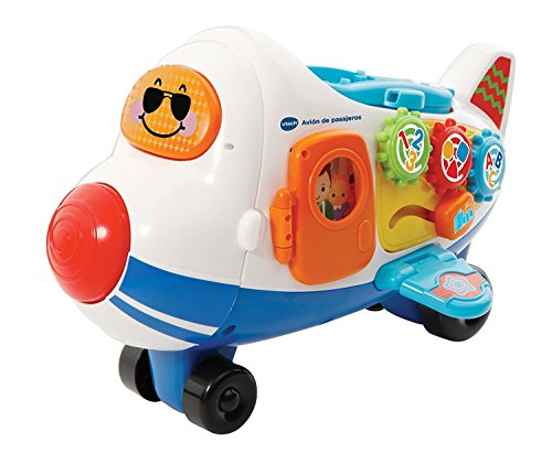 VTech- Baby: TutTut Bólidos Juguete Pasajeros + Ramón el Avión, Multicolor (3480-503122)
