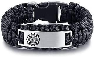 firefighter rope bracelet