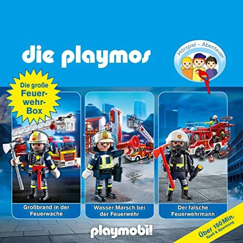 Die große Feuerwehr-Box. Das Original Playmobil Hörspiel: Die Playmos 42, 57, 62