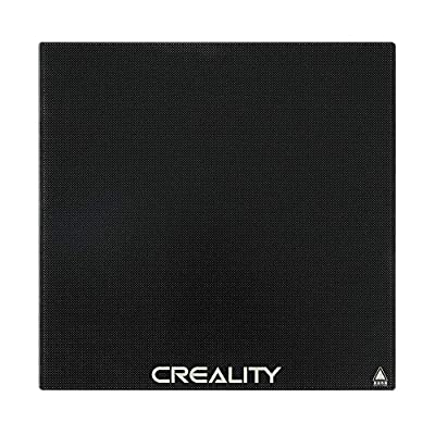 Creality CR-10 V2 Glass Bed 3D Printer Platform Tempered Glass Plate Build Surface 310 x 320 for CR-10S Pro V2 / CR-10S Pro/CR-10S / CR-X