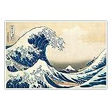 CanvasArts Die große Welle vor Kanagawa - Katsushika