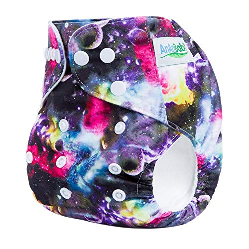 20 Baby Waterproof AI2 All-in-Two Reusable Suede Cloth Diaper Nappies Double Gusset + 20 Bamboo Charcoal Snap 4-Layer Insert + 4 Hemp 4-Layer Insert + Wet Bag from Global Novelties Babyware