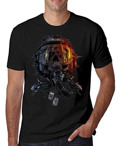 Airplane Pilot Crush Horror Nice to Herren T-Shirt XX-Large