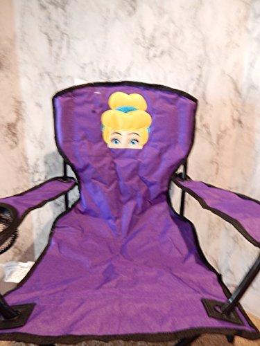 Personalized Glass Slipper Princess Folding Chair (CHILD SIZE)