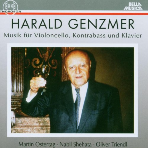 Sechs Bagatellen für Violoncello und Kontrabass (1985) - II. Der Ackermann